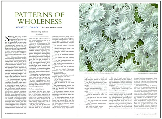 Patterns of Wholeness