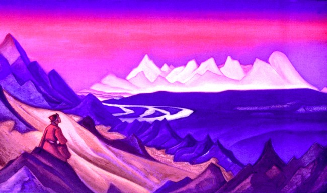 """Song of Shamballa"" by Nicholas Roerich"