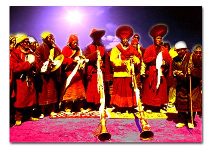 Tibetan musicians