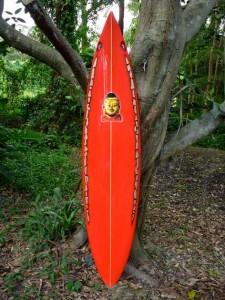 Red spear Buddha Board